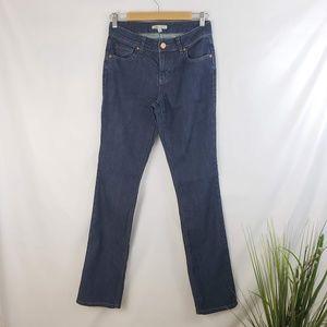 CAbi Lou Lou Darkwash Straight-leg Jeans Size 4